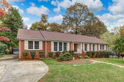 Greensboro Single Family Home For Sale: 900 Montrose Drive