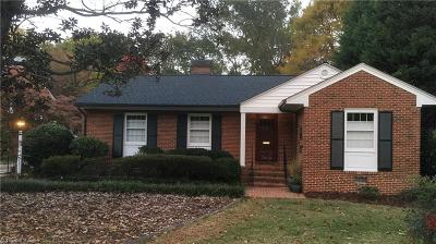 Greensboro Single Family Home For Sale: 3606 Kirby Drive