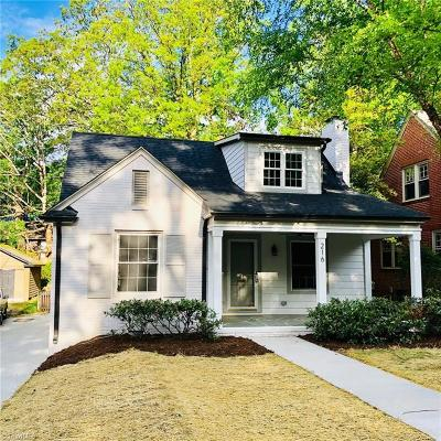 Greensboro Single Family Home For Sale: 216 Kensington Road