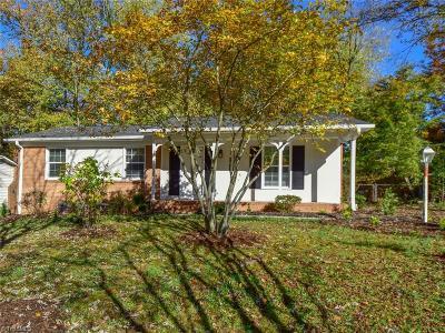 Greensboro NC Single Family Home For Sale: $134,900