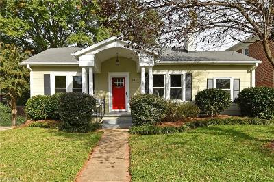 Winston Salem Single Family Home Due Diligence Period: 2311 Elizabeth Avenue