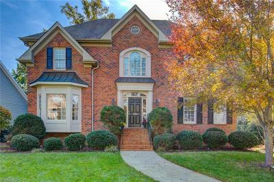 Winston Salem Single Family Home For Sale: 3706 Burbank Lane