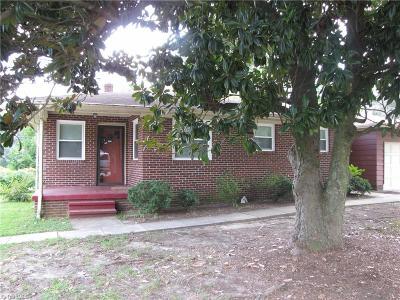 Burlington Single Family Home For Sale: 825 Graham Hopedale Road
