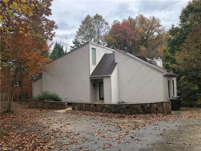 Greensboro Single Family Home For Sale: 1400 Bearhollow Road