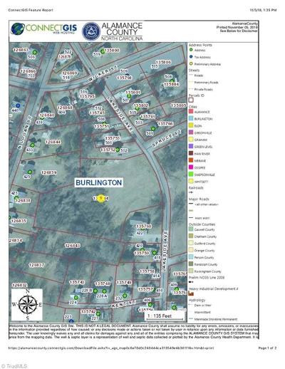 Burlington Residential Lots & Land For Sale: Lakeside Avenue #LAKESIDE