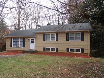 Winston Salem Single Family Home For Sale: 2742 London Lane