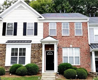Greensboro NC Condo/Townhouse For Sale: $114,000