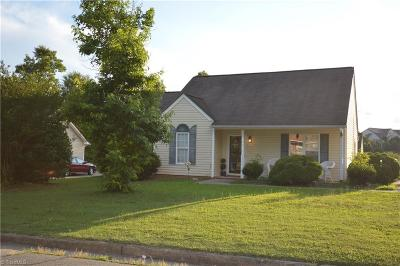 Winston Salem NC Single Family Home For Sale: $114,000