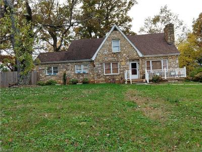 Winston Salem Single Family Home For Sale: 4720 Old Rural Hall Road