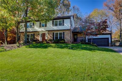Greensboro Single Family Home For Sale: 1717 Bearhollow Road
