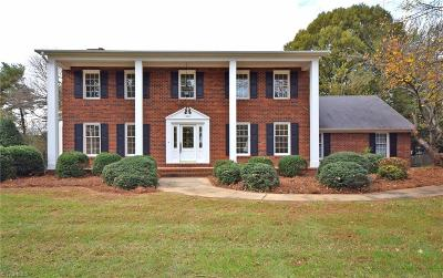 Winston Salem Single Family Home For Sale: 988 Bryansplace Road