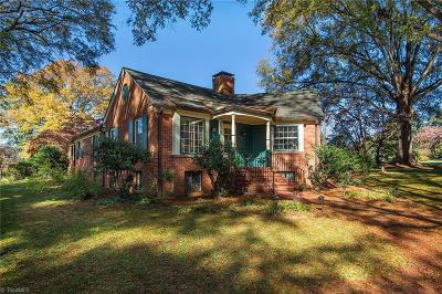 Winston Salem Single Family Home For Sale: 801 N Pine Valley Road