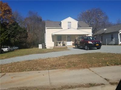 Winston Salem NC Single Family Home For Sale: $40,500