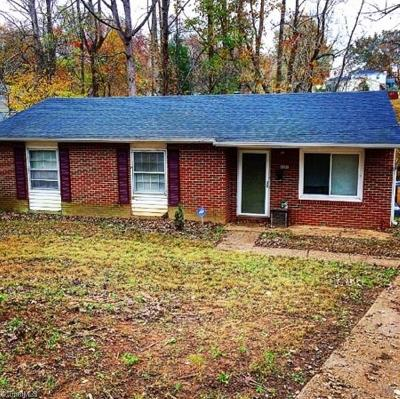 Winston Salem NC Single Family Home For Sale: $79,990