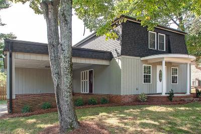 Greensboro Single Family Home For Sale: 3705 Hickory Hill Drive