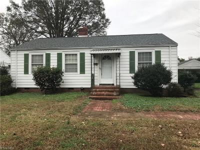 Gibsonville Single Family Home For Sale: 308 Burlington Avenue