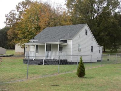 Mayodan Single Family Home Due Diligence Period: 122 Turner Road