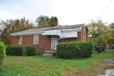Greensboro Single Family Home For Sale: 1546 McConnell Road
