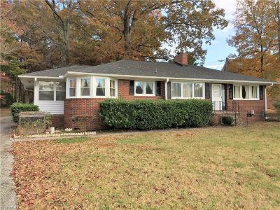 Single Family Home Sold: 1617 Guilford College Road