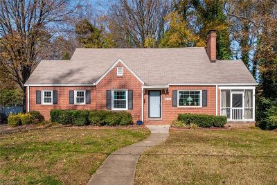 Greensboro Single Family Home For Sale: 2510 Sherwood Street
