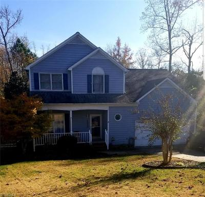 Greensboro Single Family Home For Sale: 1508 Groveland Trail