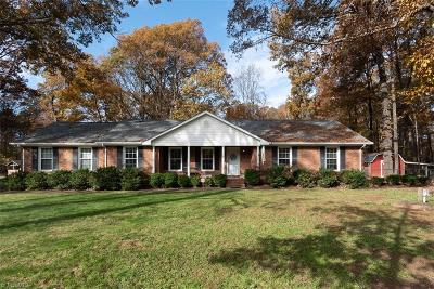 McLeansville Single Family Home For Sale: 3901 Hines Chapel Road