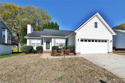 Winston Salem Single Family Home Due Diligence Period: 1853 Camden Forest Drive