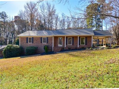 Asheboro Single Family Home For Sale: 1004 Greystone Road