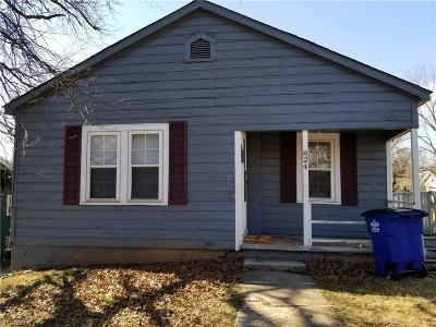 Winston Salem Single Family Home For Sale: 824 Cameron Avenue