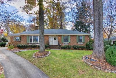 Greensboro Single Family Home Due Diligence Period: 1503 Lafayette Court