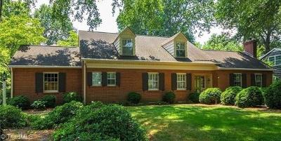 Winston Salem Single Family Home For Sale: 620 Yorkshire Road