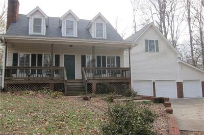 Greensboro Single Family Home For Sale: 7720 Whipple Trail