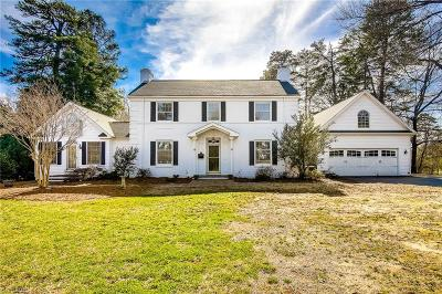 Greensboro NC Single Family Home For Sale: $730,000
