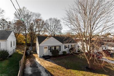Winston Salem Single Family Home For Sale: 2918 Stockton Street