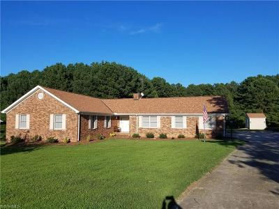 Reidsville Single Family Home For Sale: 135 Rock Spring Drive