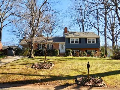 Greensboro Single Family Home For Sale: 1302 Lakewood Drive