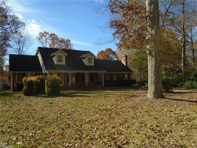 Reidsville NC Single Family Home For Sale: $240,000