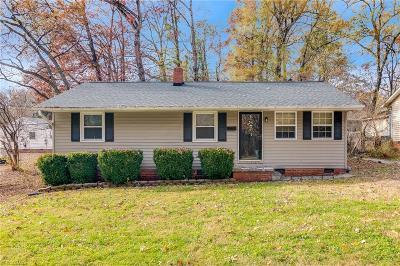 Greensboro Single Family Home For Sale: 1510 Hanner Street