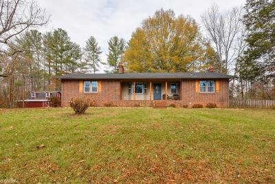 Rural Hall Single Family Home For Sale: 2175 Memorial Industrial School Road