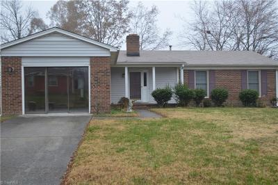 Greensboro NC Single Family Home For Sale: $120,000
