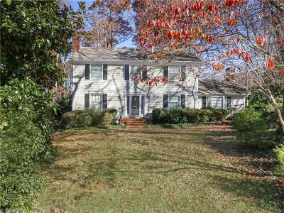 Surry County, Yadkin County, Davie County, Stokes County, Forsyth County, Davidson County, Rockingham County, Guilford County, Randolph County, Caswell County, Alamance County Single Family Home For Sale: 5 Round Hill Court