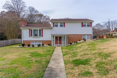Winston Salem Single Family Home For Sale: 300 Burkewood Drive