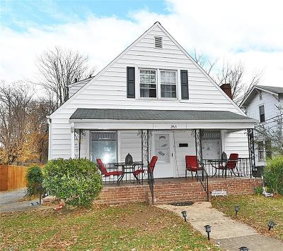 Winston Salem Single Family Home Due Diligence Period: 2415 Greenway Avenue