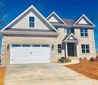 Surry County, Yadkin County, Davie County, Stokes County, Forsyth County, Davidson County, Rockingham County, Guilford County, Randolph County, Caswell County, Alamance County Single Family Home For Sale: 490 Lotus Court