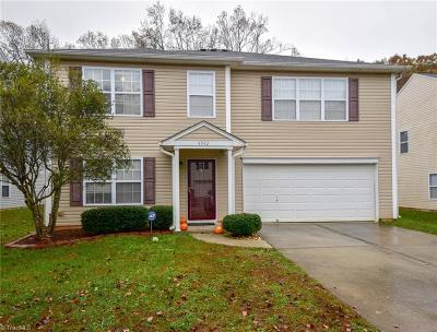 Kernersville Single Family Home For Sale: 4582 Brimmer Place Drive