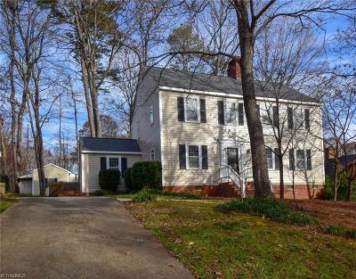 Greensboro Single Family Home For Sale: 3402 Cottage Place