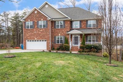 Surry County, Yadkin County, Davie County, Stokes County, Forsyth County, Davidson County, Rockingham County, Guilford County, Randolph County, Caswell County, Alamance County Single Family Home For Sale: 7713 McAdams Court