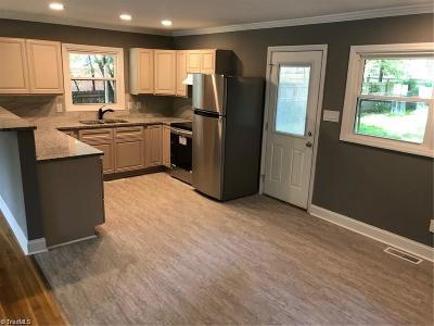 Guilford County, Forsyth County, Davidson County, Randolph County, Surry County, Yadkin County, Davie County, Stokes County, Rockingham County, Caswell County, Alamance County Single Family Home For Sale: 3403 Overton Drive