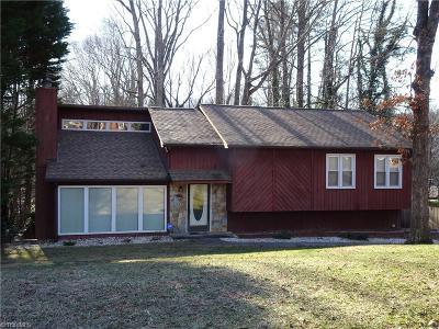 Winston Salem Single Family Home For Sale: 5728 Remington Drive