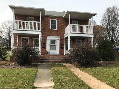 Asheboro Multi Family Home Due Diligence Period: 360 Cox Street